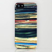 put your records on iPhone & iPod Case by Bianca Green