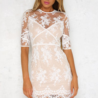 Dream Of Florence Dress White