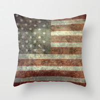"""""""Old Glory"""", The Star-Spangled Banner Throw Pillow by LonestarDesigns2020 - Flags Designs + 