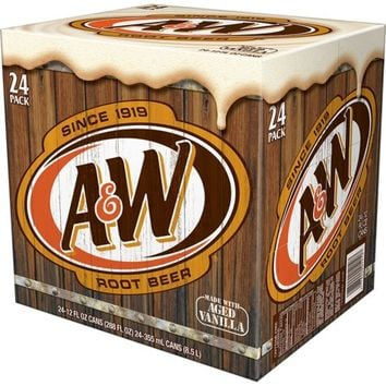 Sam's Club - A&W Root Beer (12 oz. cans, 24 pk.)