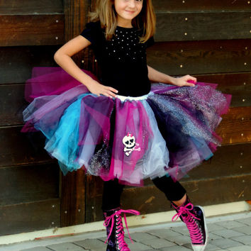 Monster High Birthday Outfit Monster High Birthday Shirt Monster High Birth Disney Princess Birthday Party Peppa Pig Birthday Outfit Disney Princess Birthday