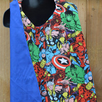 SALE!!Customize Reversible Superhero Inspired Cape and Mask/ Choose your style FREE SHIPPING