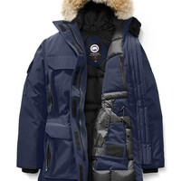 CANADA GOOSE winter women expedition parka jacket/Dark blue