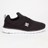 Dc Shoes Heathrow Mens Shoes Black/White  In Sizes
