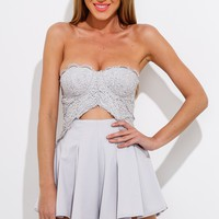 One Day Playsuit Grey