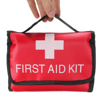 20 Kinds 52Pieces Safe Outdoor Wilderness Survival Car Travel First Aid Kit Camping Hiking Medical Emergency Treatment Pack Set