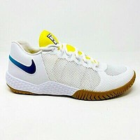 Nike Court Flare 2 HC Serena Williams Womens Tennis Shoes White Blue AV4713 107