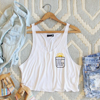 Sunshine in My Pocket Tee