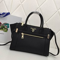 prada womens tote bag handbag shopping leather tote crossbody satchel 23