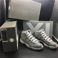 Air Jordan 11 Retro Cool Grey 378037-001 Size US8-12