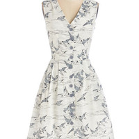 Give It Your Best Guest Dress in Birds