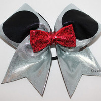Oh Mickey - Cheerleading Hairbow competition with glitz