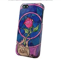 Rose Beauty and the Beast for Iphone and Samsung (iPhone 6 plus)