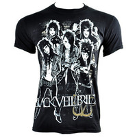 Black Veil Brides Shred t shirt, band t shirts, BVB merchandise UK