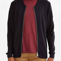 Native Youth Lightweight Knit Bomber Sweater