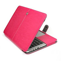 """PU Soft Leather Macbook Pro Case Cover Sleeve For 13"""" (A1286) 15"""" (A1286)"""