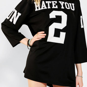 Urban Outfitters - UNIF Hate You 2 Jersey Tee