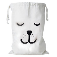 Canvas Laundry & Toy Bags