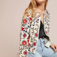 Kirian Embroidered Crop Jacket