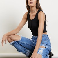 Carry On Cropped Tank