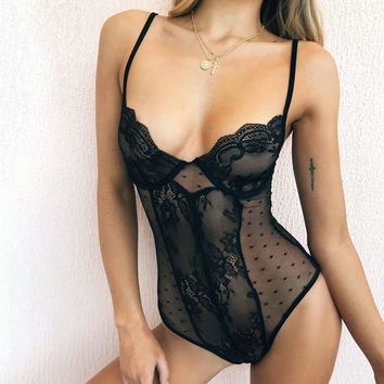 Hot Deal Cute On Sale Ladies Sexy Lace Exotic Lingerie [312185159721]