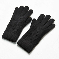 Braided Plush Knit Glove - Urban Outfitters