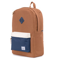 Herschel Supply Co.: Heritage Backpack - Caramel / Navy / Natural