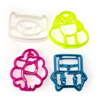 Adventure Time Finn Jake LSP and BMO cookie cutters