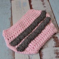 Diaper Ruffle Cover Handmade Baby Photo Props Baby Shower Gifts Pink Grey