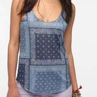 Urban Outfitters - BDG Printed Shirttail Tank Top