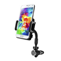 "Cellet Large Car Charger Phone Mount - up to 4.3"" wide"