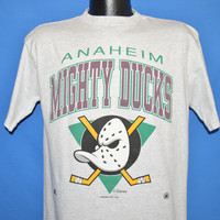 90s Mighty Ducks of Anaheim t-shirt Large