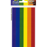 Rainbow Pride Rectangular Sticker