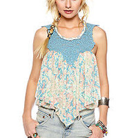 Free People Penelope's Bubble Top