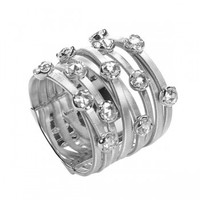 Marco Bicego Goa White Gold Nine Strand Diamond Ring