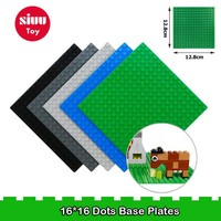 Classic Base Plates Plastic Bricks Baseplates Compatible Legoe Major Brands Building Blocks Construction Toys 16*16 Dots