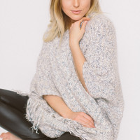 Cozy As Can Be Cardigan - Blue