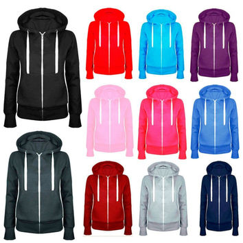 Jackie Hoodie, Workout Coat, Many Colors & Sizes
