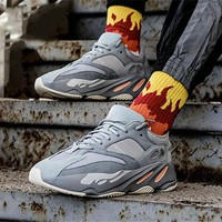 ADIDAS YEEZY BOOST 700 V2 Tide brand retro couple models fashion wild old shoes sneakers 5#