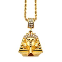 Shiny Stylish Jewelry New Arrival Gift Rhinestone Hot Sale Hip-hop Accessory Necklace [10529028611]