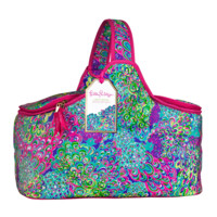 Lilly Pulitzer Party Cooler-Lilly's Lagoon