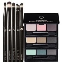 *SP Outstanding Eyes: Complete Colour Pallet Collection + 5 Piece Eye and Lip Brush Set - Mirenesse