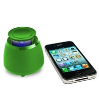 Wireless Bluetooth Speaker - BLKBOX POP360 Hands Free Bluetooth Speaker - for iPhones, iPads, Androids, Samsung and all Phones, Tablets, Computers (Go-Crazy Green)