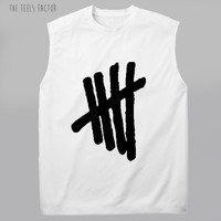 5sos Tally Muscle Tee |5 Seconds Of Summer