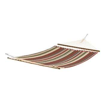 Fadesafe Quilted Hammock - Heather Henna Red Multi Stripe - Classic Accessories Montlake