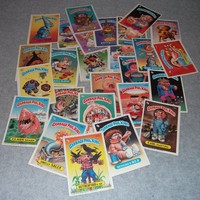 Garbage Pail Kids (10) Card Lot 1980s 80s Retro Hipster Cool Stickers GPK Vintage