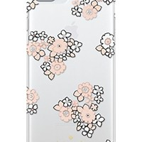 Kate Spade New York kate spade new york Cell Phone Case for iPhone 7 Plus/6 Plus/ 6s Plus - Floral Burst Clear / White / Pink Sand / Gems from Amazon | BHG.com Shop