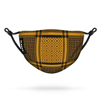 Shemagh Harvest Gold Flat Face Mask