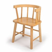 Whitney Brothers Bentwood Back Hardwood Chair