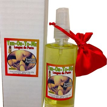 "Tied-on-to-me ""Lengua de Perro"" Spiritual Unisex Perfume with Pheromones and Amulet"
